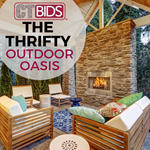 The Thrifty Outdoor Oasis